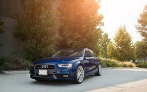 Picture Audi, Audi, before, blue, blue