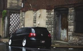Picture black, volkswagen, black, Golf, golf, Volkswagen, MK5