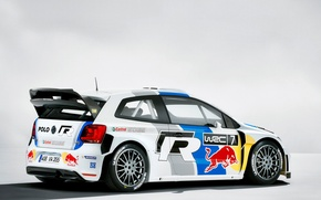 Picture volkswagen, rally, wrc, polo, red bull, 2013