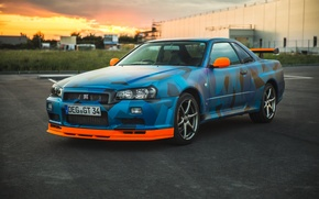 Picture Nissan, Skyline, Nismo, GT-R34