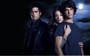 Picture actress, the series, actor, Crystal Reed, Teen Wolf, Tyler Posey, Tyler Hoechlin