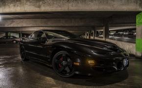 Picture black, Parking, Pontiac