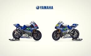 Picture Yamaha, team, double, motogp2014