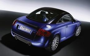 Picture blue, Audi, car