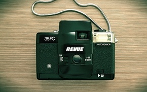 Picture background, camera, Revue 35FC