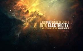 Picture Tesla, words, Nicola