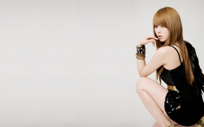 Picture girl, music, Asian, South Korea, K-Pop, Kim Hyun, 4minute