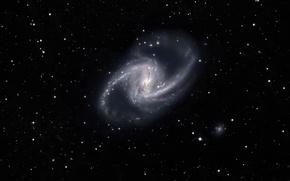 Wallpaper space, stars, Spiral galaxy, Spiral Galaxy