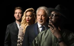 Picture Will.i.am, Rita Ora, 2015, Ricky Wilson, Tom Jones, Voice, The Voice