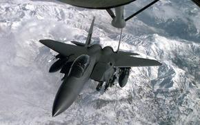 Picture F-15E, American double fighter-bomber, Strike Eagle