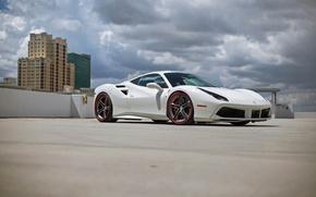Picture City, Ferrari, GTB, Wheels, HRE, 488