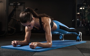 Picture strength, pushups, fitness, transpiration, workout