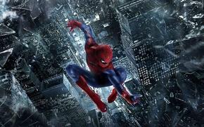 Picture spider-man, flight, 2012, spider-man, film, the amazing spider man, andrew garfield