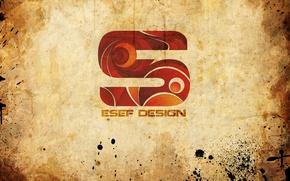 Wallpaper squirt, style, paper, paint, papyrus, esef design