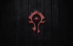 Picture the game, symbol, wow, Horde, banner, horde