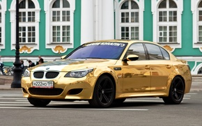 Picture machine, Gold, beauty, bmw m5, review