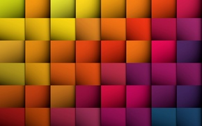 Picture abstraction, background, colors, squares, colorful, abstract, background