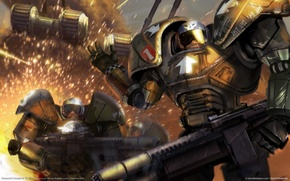 Picture command_and_conquer_3, soldaty, tiberium_wars