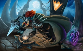 Picture wow, the robber, world of warcraft, horn, rogue, Troll, Troll, Horde, Horde