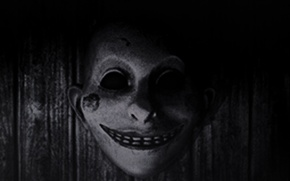 Picture smile, mask, horror, the evil within