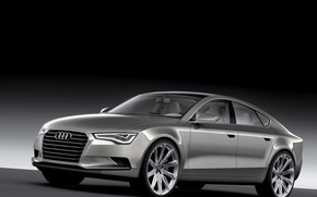Wallpaper Audi, metallic, 20дюймовые drives