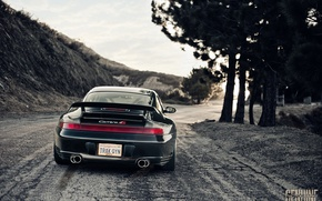 Wallpaper feed, Porsche, Carrera, 996, black