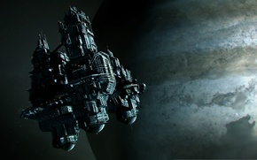 Picture space, planet, space station, Alien: Isolation, sevastopol