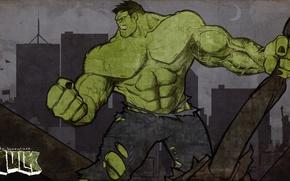 Picture Fantasy, Hulk, Marvel, Honnoror