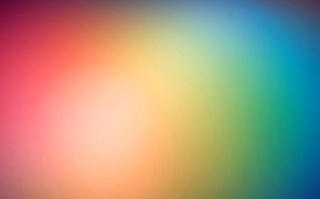 Picture light, color, rainbow