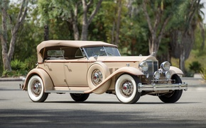 Picture 1932, Packard, Packard, Sport Phaeton, Twin Six