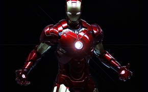 Wallpaper cinema, golden, power, Iron Man, man, cartoon, Marvel, films, comics, hero, suit, Tony Stark, pearls, ...