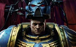 Picture Helmet, Soldiers, Space Marine, Warhammer 40000, Warhammer