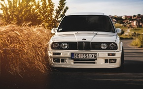 Picture bmw, white, e30, 325