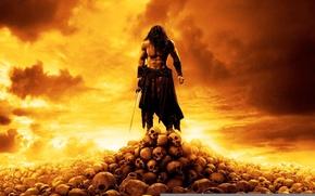 Picture skull, 2011, Conan The Barbarian, Conan the barbarian