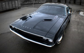 Picture car, dodge, muscle, challenger