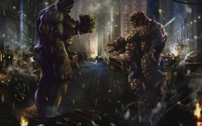 Picture war, the game, Hulk, human mountain