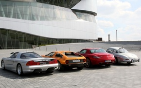 Picture Mercedes-Benz C112, Mercedes-Benz C111, Mercedes-Benz SLS AMG, Mercedes-Benz 300 SL Gullwing