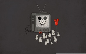 Wallpaper fans, Mickey Mouse, Idol, mice