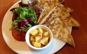 Picture food, bread, tarelka