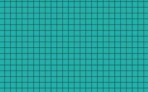 Picture black, blue, texture, background, squares