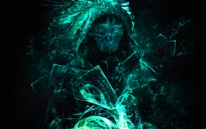 Picture abstraction, mask, video game, dishonored