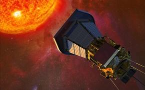 Picture space, The sun, probe