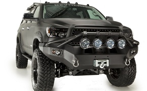 "Picture Toyota, Toyota Tundra by Devolro, winch 4500 kg ""Warn"", wheels R35, fuel tank 180л, the ..."