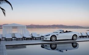 Wallpaper white, pool, Bentley