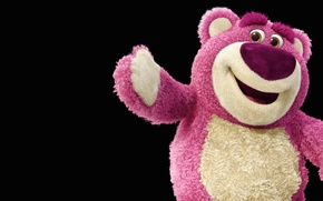 Picture bear, cartoon, Toy story
