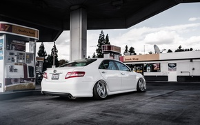 Picture dressing, white, toyota, Toyota, camry, Camry, stance