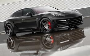 Picture black, tuning, Porsche, Panamera, GT 2