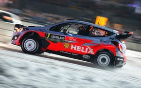 Picture Hyundai, Sweden, WRC, Rally, i20, Neuville