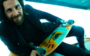 Picture photoshoot, Christian Bale, Esquire