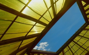 Picture roof, the sky, the sun, clouds, widescreen, Wallpaper, cloud, wallpaper, widescreen, background, the Wallpapers, full …